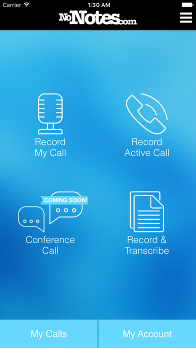 Call Recording by notes