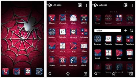 cobweb go launcher android theme