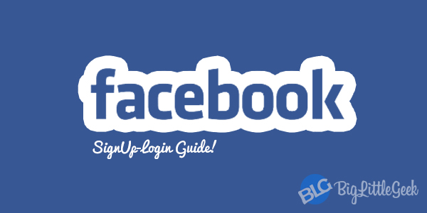 facebook.com login signup
