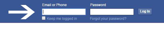 facebook online login signin