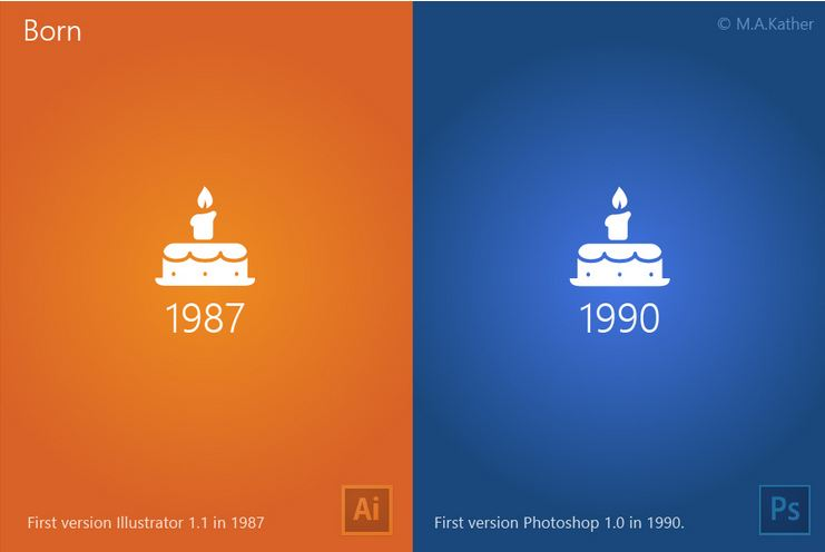 illustrator vs photoshop for design