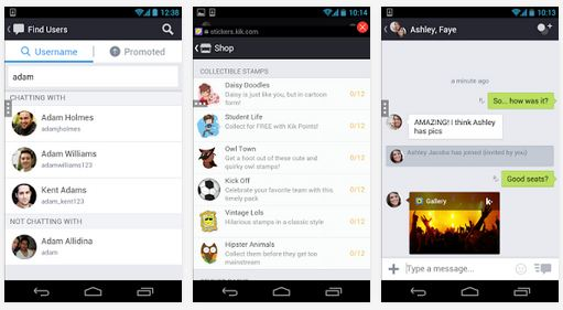 kik online app android version