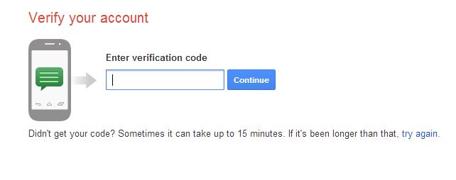 gmail online verification