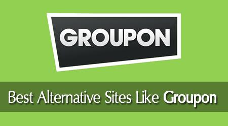 best sites like groupon alternatives