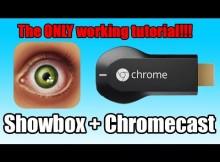 Showbox on chromecast