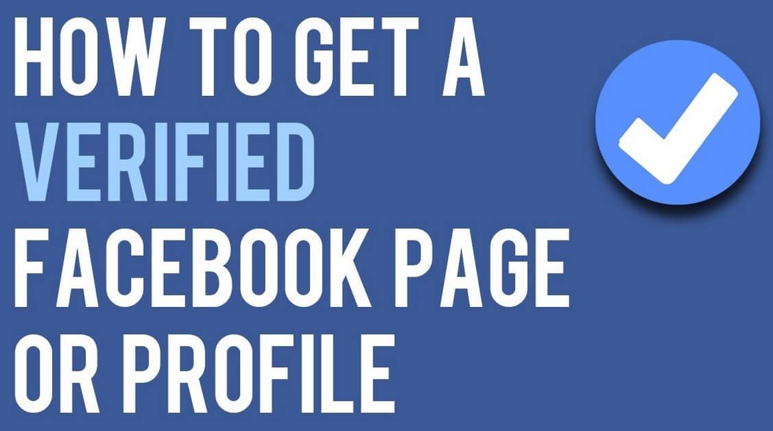 steps for verifying your facebook profile. Black Bedroom Furniture Sets. Home Design Ideas