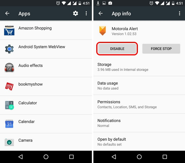 Android-App-Settings