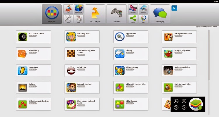 bluestacks best android emulators
