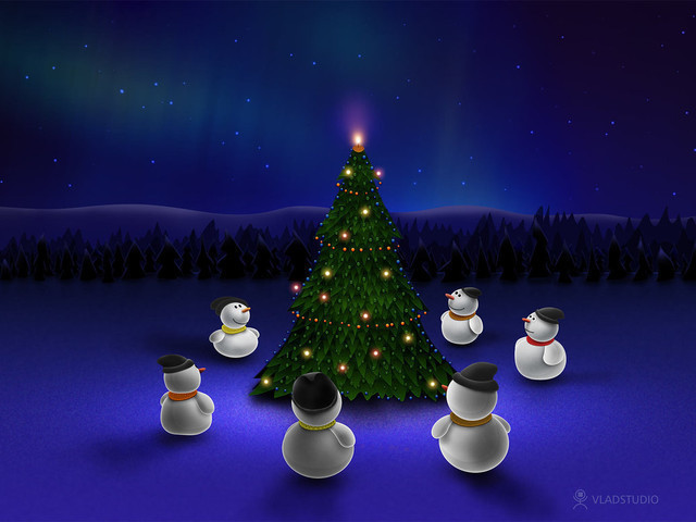 Beautiful Christmas Wallpapers 2014