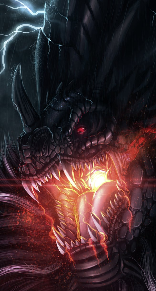 Awesome Dragon iPhone 6 Wallpaper