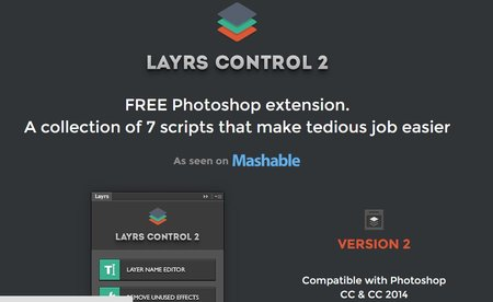 layrs control free photoshop plugins