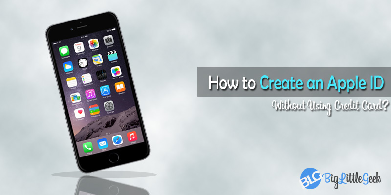 create an apple id without credit card