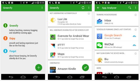 greenify android root apps