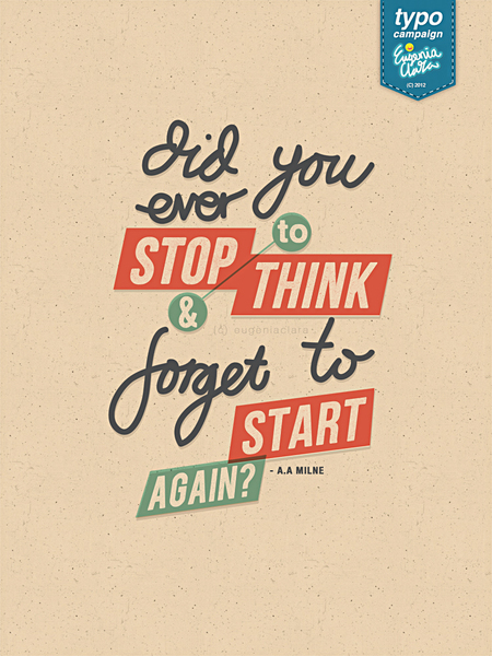 inspirational typography posters quotes