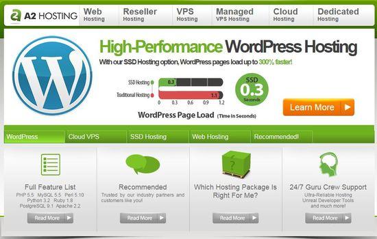 a2hosting ssd- hosting provider