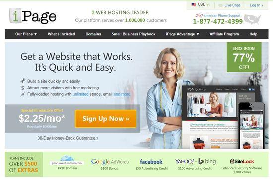 ipage hosting company