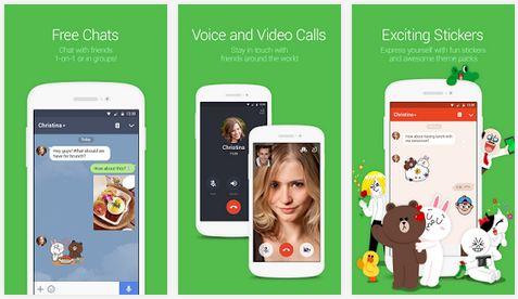 line video voice app