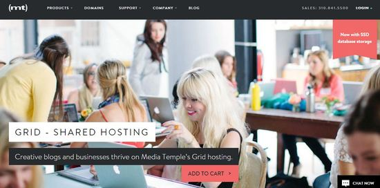media temple grid web hosting