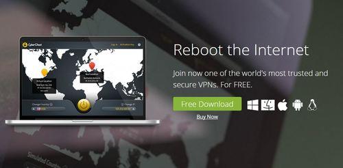 cyberghost free vpn