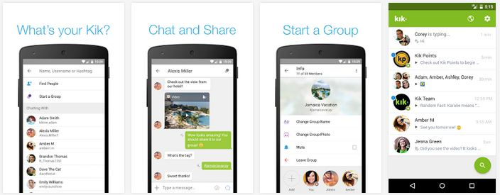 kik messenger alternative whatsapp