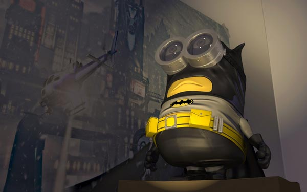 batman minion the dark knight background