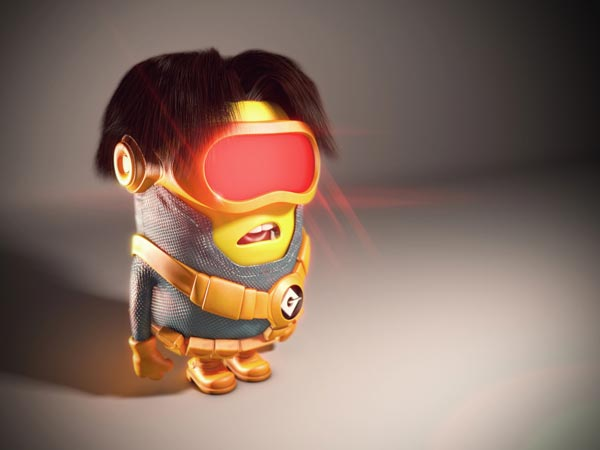 cyclops minion wallpaper background