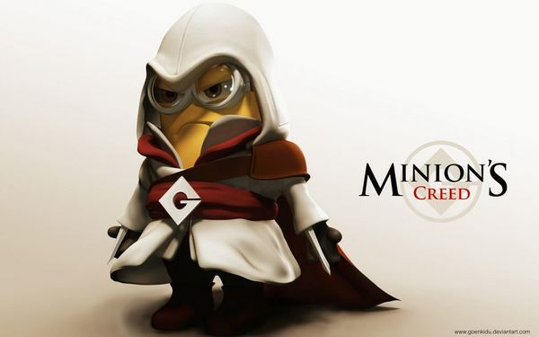 despicable me minions creed