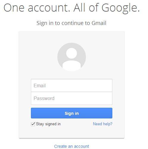 gmail login online google mail