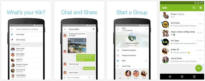 kik messenger apk for android