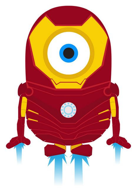 minion iron man wallpaper