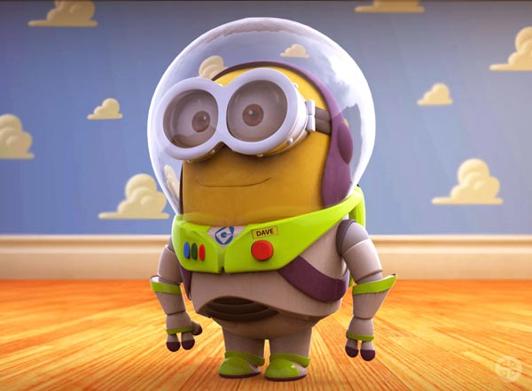 minion lightyear toy story wallpaper
