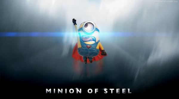 minion of steel wallpaper