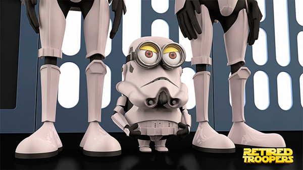 minion retired troopers fan art