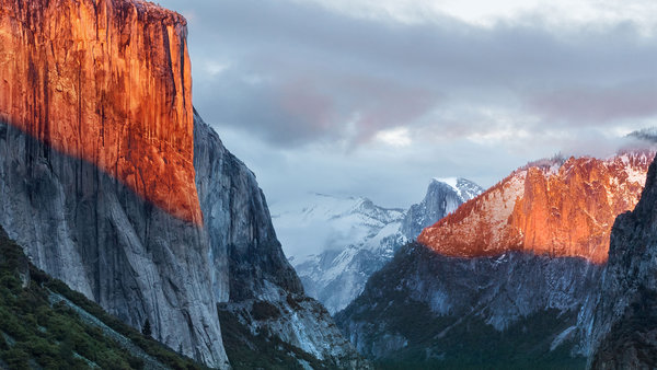 os x el capitan wallpaper without logo