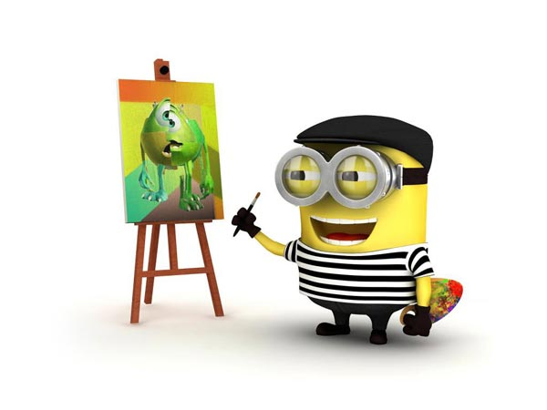 picasso minion wallpaper hd
