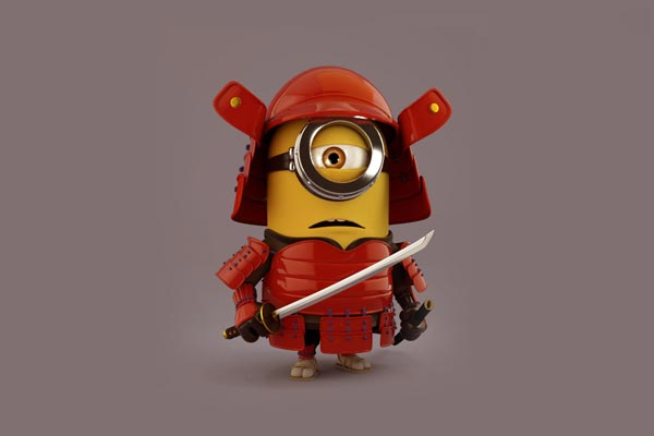 samurai minion wallpaper