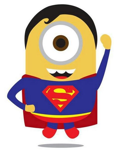 superman minions wallpaper