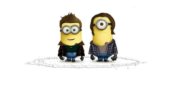 supernatural minion wallpaper