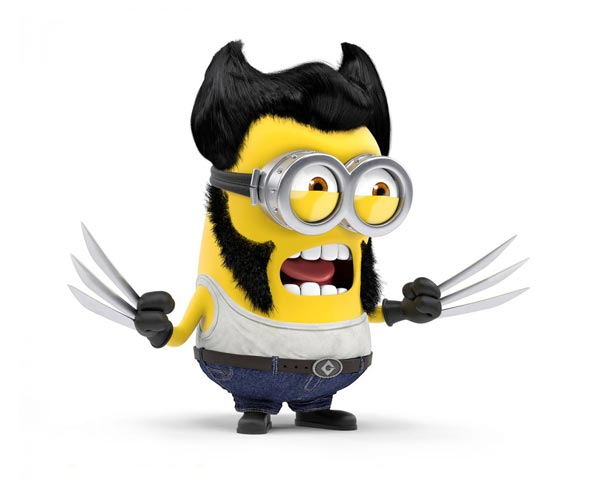 x-men wolverine minion background