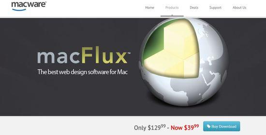 macflux html5 design tool