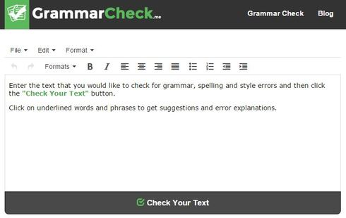 grammar check proofreading tool