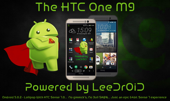 leedroid m9 rom for htc one