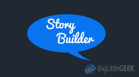 story builder texting game
