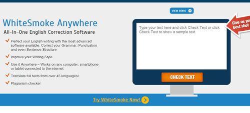 whitesmoke online grammar check