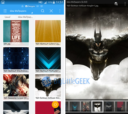 es file explorer app image viewer
