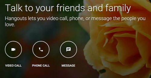google hangouts skype alternatives