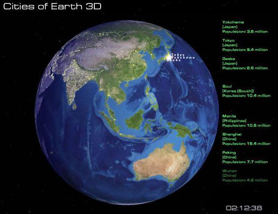 cities of earth screensaver