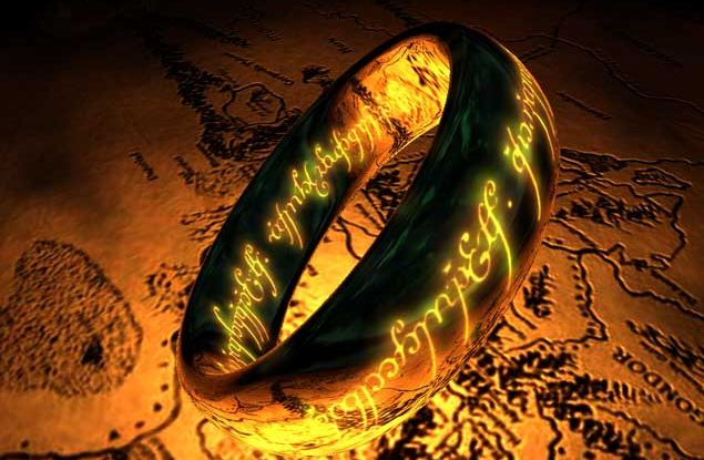 the one ring screensaver