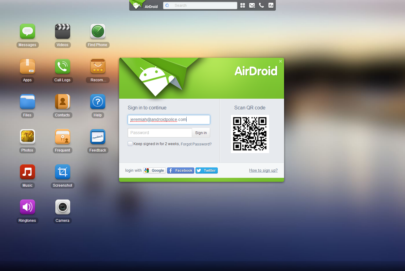 AirDroid-Pc Suite