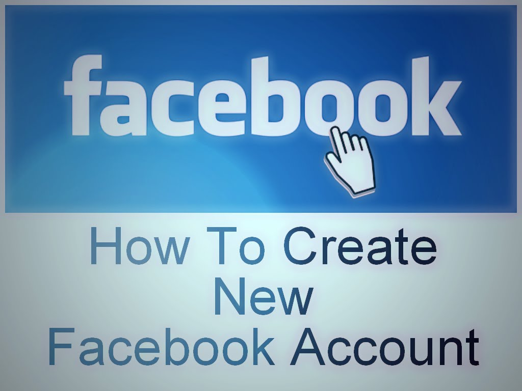 how to create a new facebook account. Black Bedroom Furniture Sets. Home Design Ideas